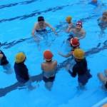 親子水泳教室◇朝倉第二小学校
