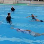 親子水泳教室◇はりまや橋小学校