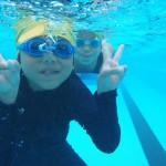 親子水泳教室◇介良小学校
