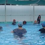 親子水泳教室◇三里小学校