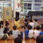 親子水泳教室◇横内小学校・十津小学校