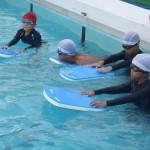 親子水泳教室◇御免野田小学校